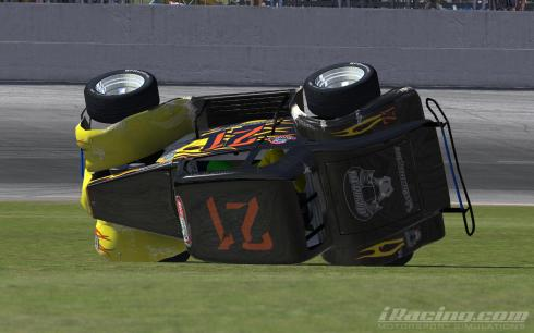 Unfortunate end to the race