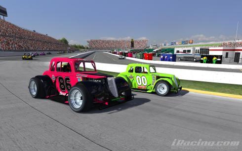 Clean racing on display