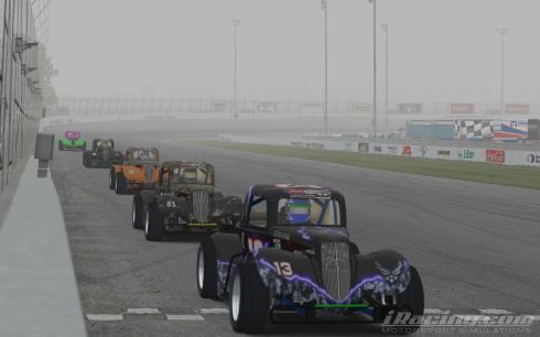 Close racing all night!