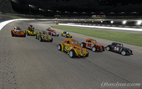 Race 2 action