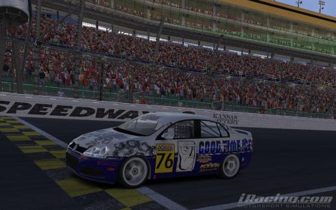 Spidle Wins Race 1
